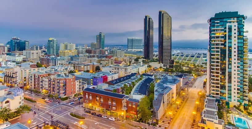 Onde Ficar Em San Diego: Downtown