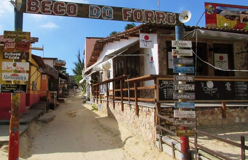 Onde Ficar Em Jericoacoara: Rua do Forró