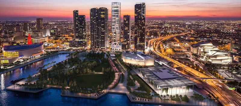 Onde Ficar Em Miami: Downtown Miami