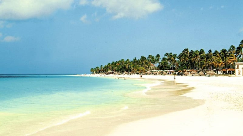 Onde Ficar em Aruba: Eagle Beach