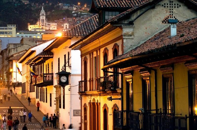 Onde Ficar em Bogotá: La Candelária