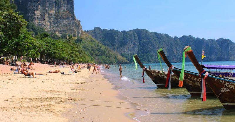 Onde Ficar Em Ao Nang: Região da Praia