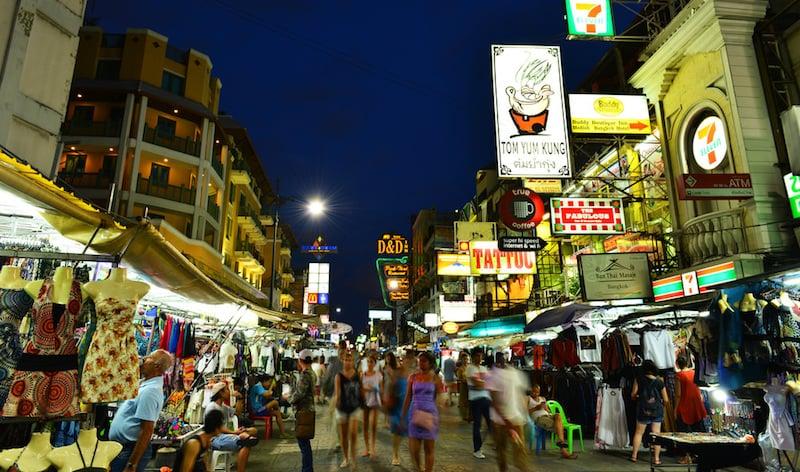 Onde Ficar Em Bangkok: Khao San Road