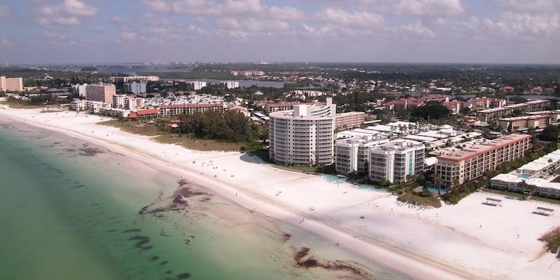 Onde Ficar Em Sarasota: Crescent Beach