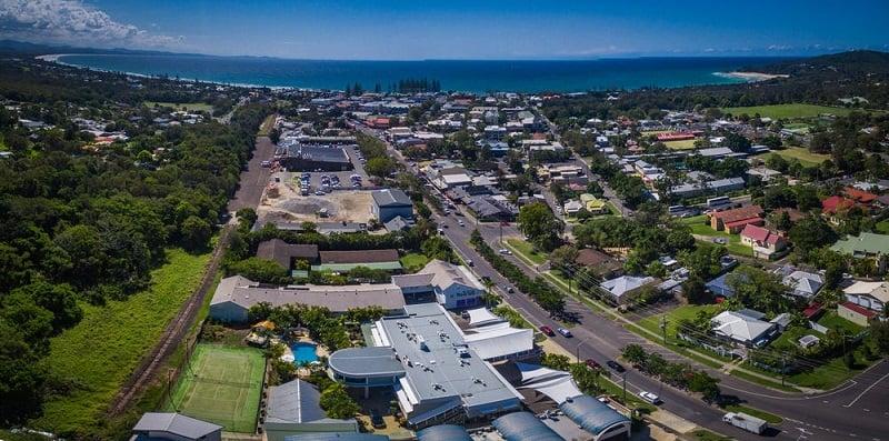 Onde Ficar em Byron Bay: Rua Jonson