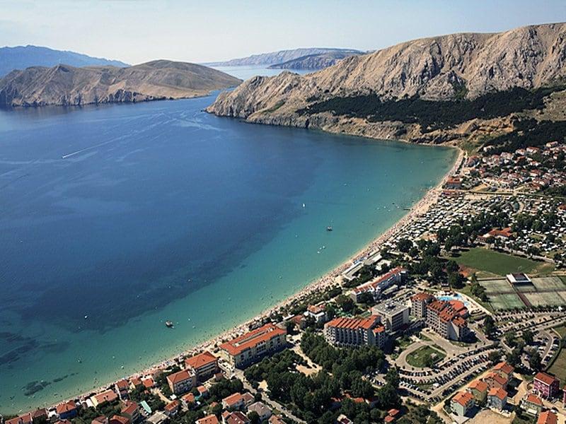 Onde Ficar na Ilha Krk: Baska