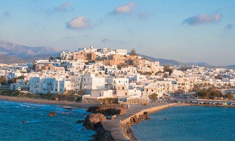 Onde Ficar em Naxos: Chora