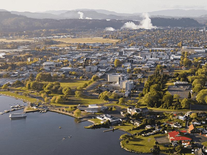 Onde Ficar em Rotorua: Rotorua City