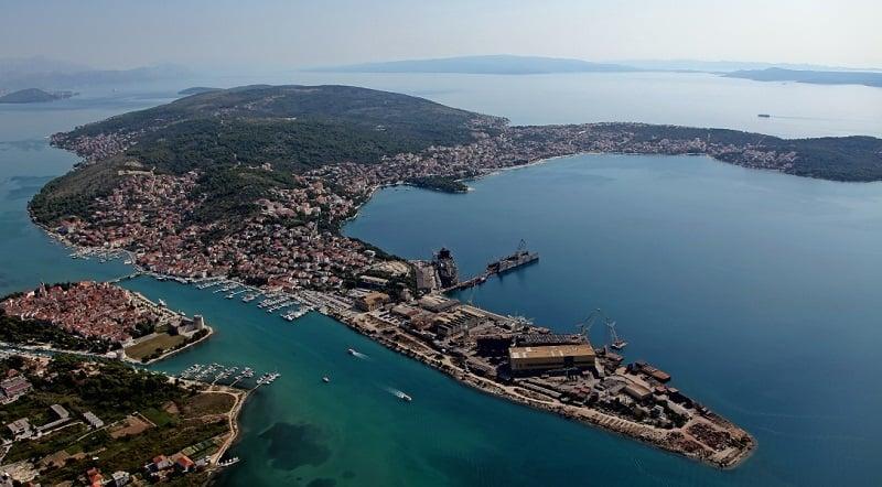 Onde Ficar em Trogir: Ilha Ciovo
