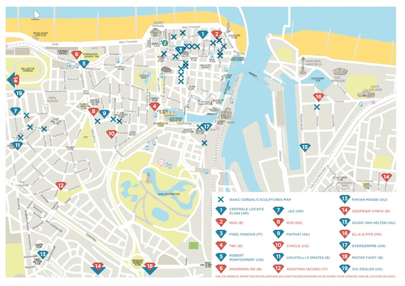 Onde Ficar em Ostend: Mapa