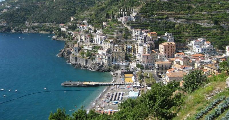 Onde Ficar em Minori na Itália: Proximidades da Praia