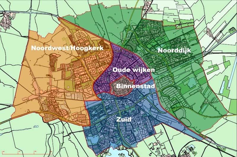 Onde Ficar em Groningen na Holanda: Mapa