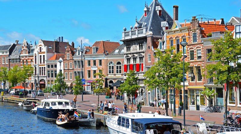 Onde Ficar em Haarlem na Holanda: As margens do Rio Spaarne