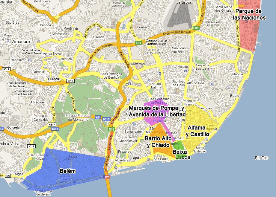 Onde Ficar em Lisboa em Portugal