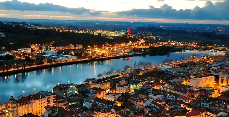 Onde Ficar em Coimbra: Rio Mondego