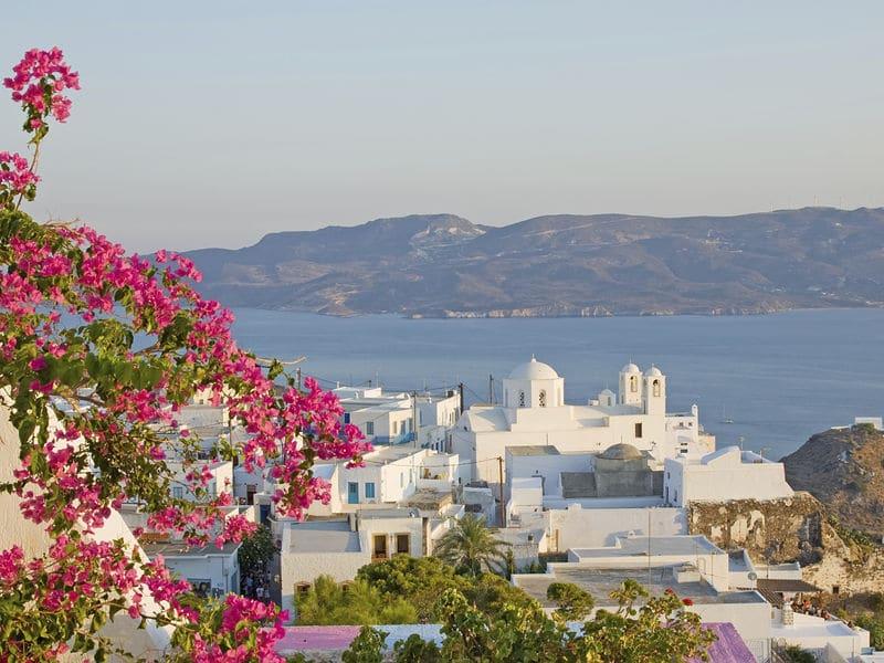 Onde Ficar em Milos: Plaka