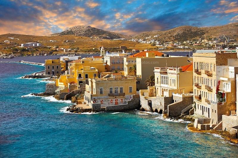 Onde Ficar em Syros na Grécia