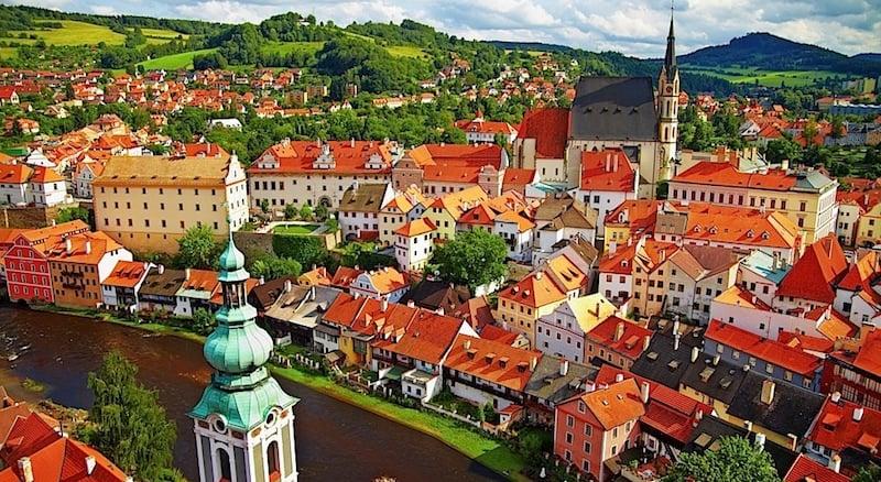 Onde Ficar em Cesky Krumlov na República Tcheca: Centro