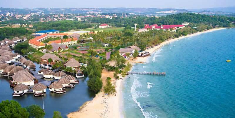 Onde Ficar em Koh Rong Samloem no Camboja: Próximo a Praia