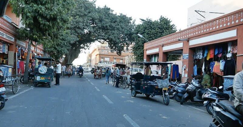 Onde Ficar em Jaipur na Índia: MI Road