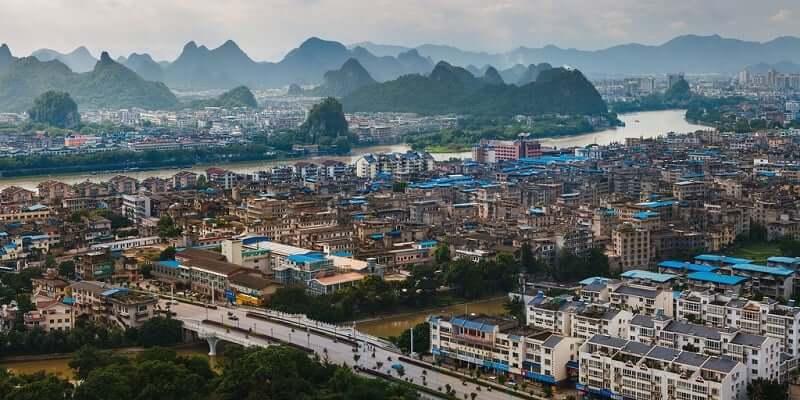 Onde Ficar em Guilin: Centro de Guilin - Lado Oeste