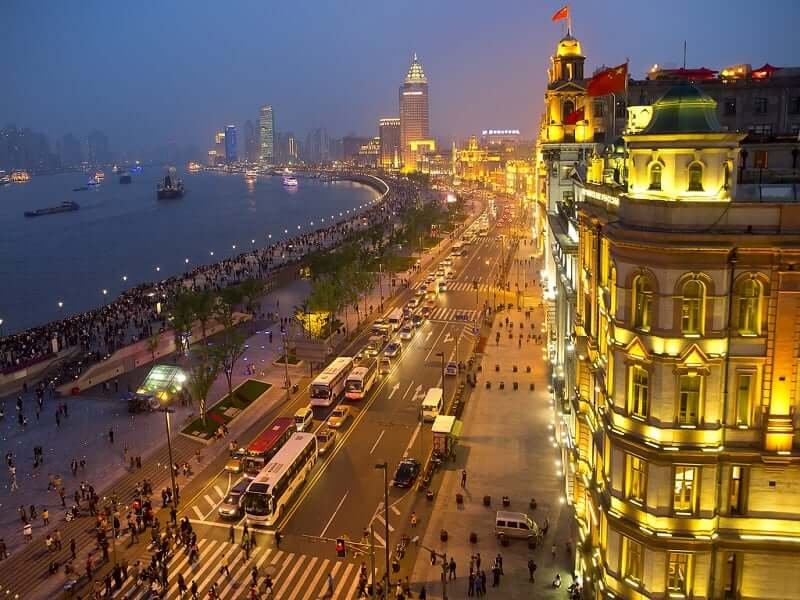 Onde Ficar em Shanghai: The Bund