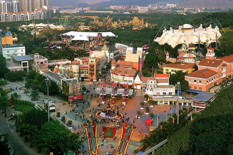 Onde Ficar em Shenzhen: Overseas Chinese Town