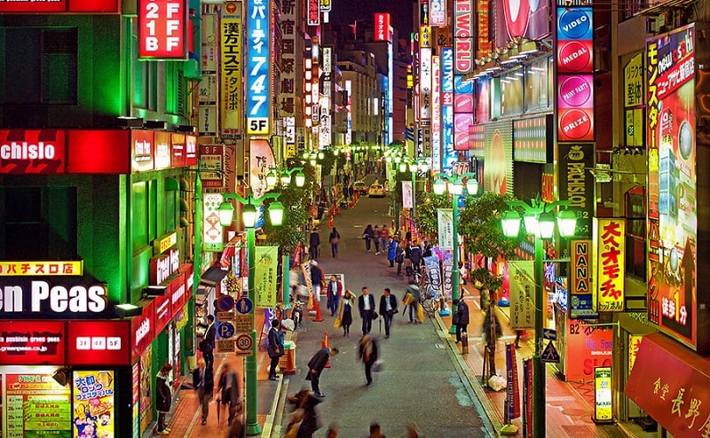 Onde Ficar em Tóquio: Shinjuku