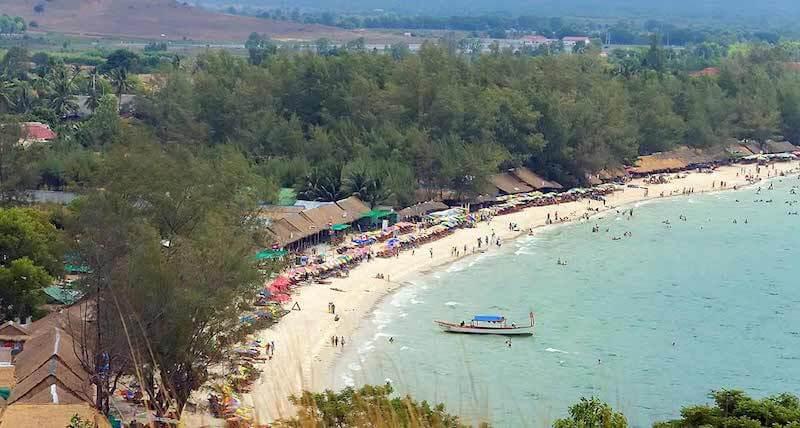 Onde Ficar em Sihanoukville no Camboja: Próximo a Praia