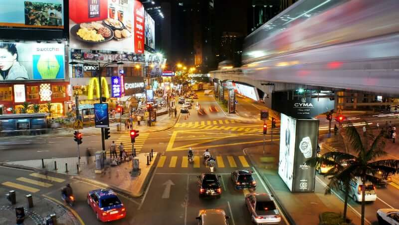 Onde Ficar em Kuala Lumpur na Malásia: Bukit Bintang