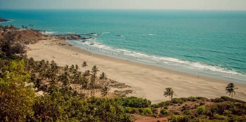 Onde Ficar em Canacona na Índia: Próximo a praia