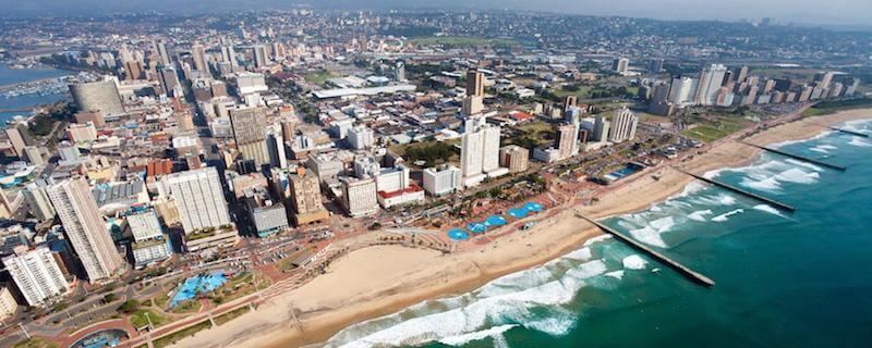 Onde Ficar em Durban na África do Sul: Próximo a Praia
