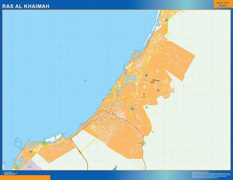 Onde Ficar em Ras al Khaimah: Mapa